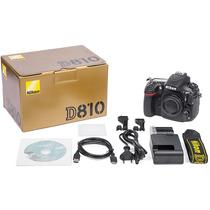 Camara Nikon D810 Body - Garantia - Precio Efvo