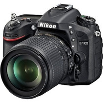 Nikon D7100 Kit 18-105 Vr 24mp Dx Format Cmos Nuevo. Gtia.