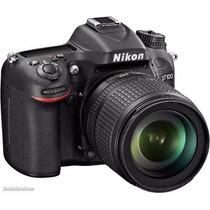 Nikon D7100 D 7100 Kit 18-105mm Vr 24.1mp Lcd 3.2 Gtia