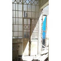 Antigua Mampara Con Puerta De 4.38 Ancho 3.80 Alto