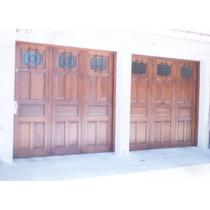Portón De Tres Hojas