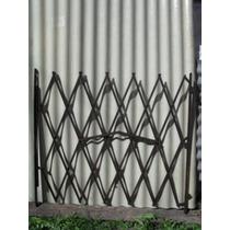 Puerta Cancel Baja Hierro Plegadiza Y Corrediza