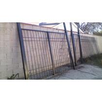 Reja Con Puerta Y Portón