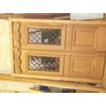 Puerta De Frente 2 Hojas Cedro