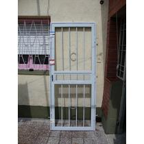 Puerta Reja Con Barrotes De 16 Mm