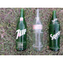 Antiguas Botellas 7 Up Sprite Coca Cola Litro Años 80