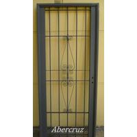 Puerta Reja, Linea Premium, Para Puertas De Frente C/marco
