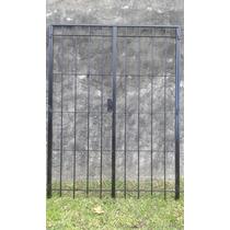 Puerta Reja 150x200 Balcón De Abrir