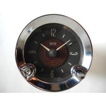 Reloj Smiths Inglés Tablero Auto 12 V Mide 60 Diam.cuerpo