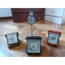 Lote 4 Antiguos Relojes ( Kaiser Piccadilly Europa Florn )