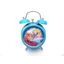 Reloj Despertador P/nenas Infantil Personajes Ficcion Frozen