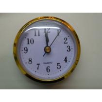 Reloj Inserto Ideal Para Artesanía Y Souvenirs 6,5cm
