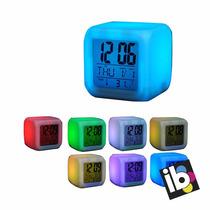 Reloj Desperador Temperatura Digital Luz In Bloom Regalos