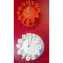 Relojes De Pared 3 D Chico