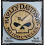 Reloj Harley Davidson En Madera