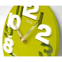 Reloj De Pared De Diseño Moderno De Vanguardia Unico Calidad