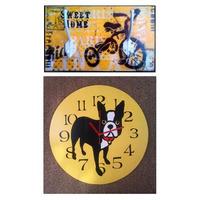 Reloj Pared + Perchero Oferta Maderas Recicladas Deco Diseño