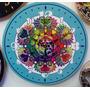 Reloj De Pared Moderno Circular 28cm Fabricante-mandala-logo