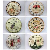 Relojes De Pared Deco Vintage En Madera