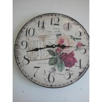 Reloj De Pared Shaby Chic...!