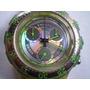 Reloj Swatch Twilve Crono Cilicona 439 Correcto Funcionar