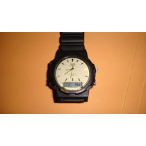 Reloj Q&q Alarma Cronometro Wr 30 Mtrs-c144