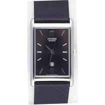 Reloj Citizen Bg5050-06e Elegante De Caballero Correa Cuero