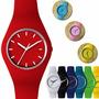 Reloj Pulsera Silicona Unisex Deportivo Colores Ultima Moda