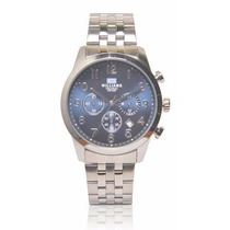 Reloj Williams Okusai Cronografo Acero Wr30m Garantí Oficial