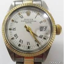 Rolex Oyster Perpetual Just Date Unico En Su Estado!!!!!!!!!