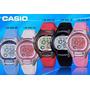 Reloj Casio Lw-200 Niño Niña Mujer Blanco Negro Azul Rojo!!