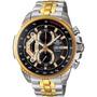 Reloj Casio Edifice Ef-558sg-1av Cronometro Retrogado De 5hs