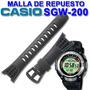 Malla De Repuesto Casio Sgw200 Original Colocacion Sin Cargo