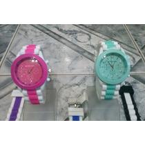 Reloj Silicona Bicolor