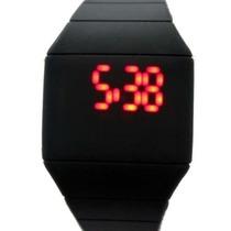 Reloj De Plastico Silicona Digital