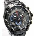 Reloj Casio Edifice Ef-550bk Cronometro 1/20 Red Bull Vettel