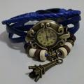 Relojes Pusera Vintage!!! 7 Colores!!! El Mejor Precio!!!