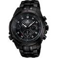 Reloj Casio Edifice Ef-535bk Cronometro 1/20 Taquimetro