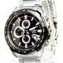 Reloj Casio Edifice Ef-563db-1a Cronometro Vettel Red Bull