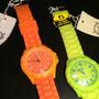 Reloj Dama Kevingston Caucho Color/menajoyas