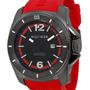 Reloj Tommy Hilfiger 1791112 Hombre Negro Con Rojo Original