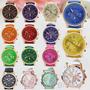 Reloj Mujer-analogico-cuero -varios Colores-mejor Precio