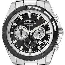Reloj Citizen An8011-52e Cronografo Wr100m Agente Oficial