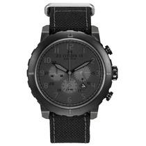 Reloj Citizen Ca4098-06e Military Eco Drive Agente Oficial