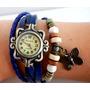 Reloj Vintage Cuero!! Por Menor Belka !