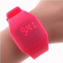 Reloj Led Touch Digital Deportivo Unisex Silicona Tactil