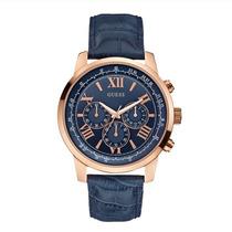 Reloj Guess W0380g5 Cronografo Rosé Cuero Agente Oficial