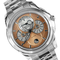 Reloj Citizen Bu0011-63z Fase Lunar Eco Drive Agente Oficial