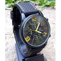 Reloj Pulsera Silicona Gt Hombres Diseño Deportivo Colores