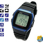 Reloj Casio Digital W-96h-2a Crono 1/100 - Alarma Local